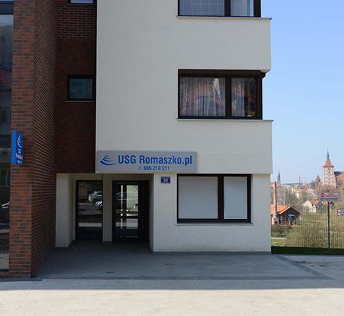 USG Olsztyn - siedziba